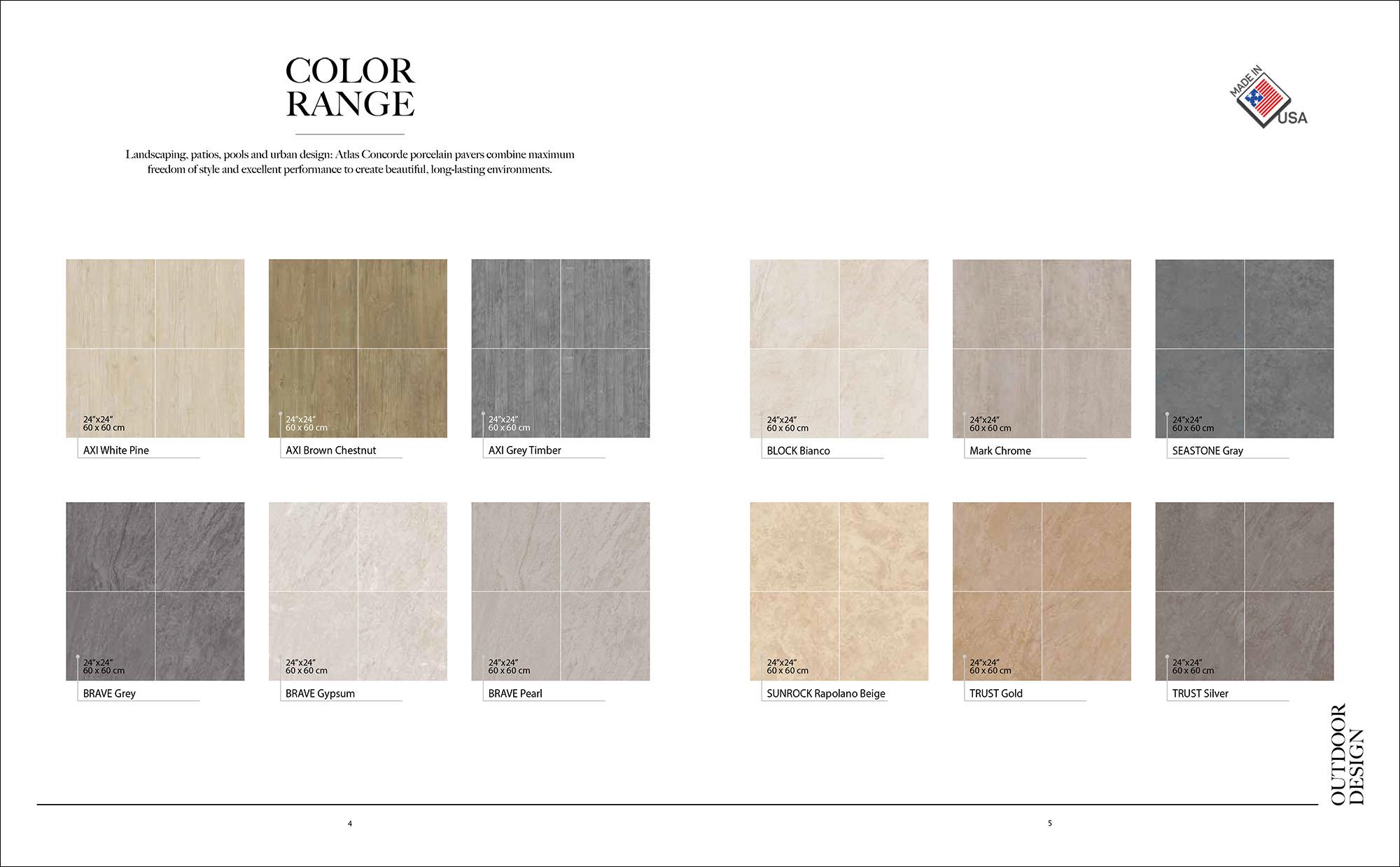 Hipix portfolio print adv Catalogo lastra 20mm ceramiche atlas concorde immagine 2