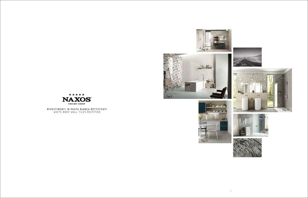 Hipix portfolio print adv Catalogo Perle Ceramica Naxos Fincibec Group immagine 2