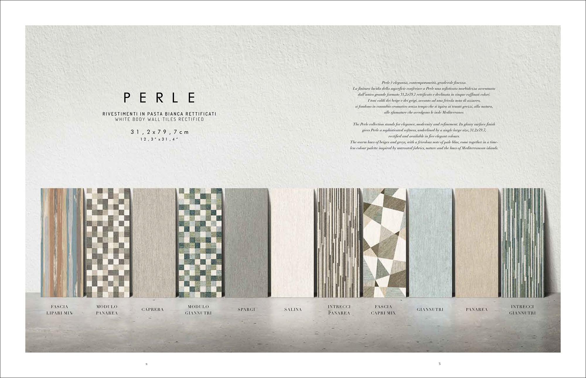 Hipix portfolio print adv Catalogo Perle Ceramica Naxos Fincibec Group immagine 3
