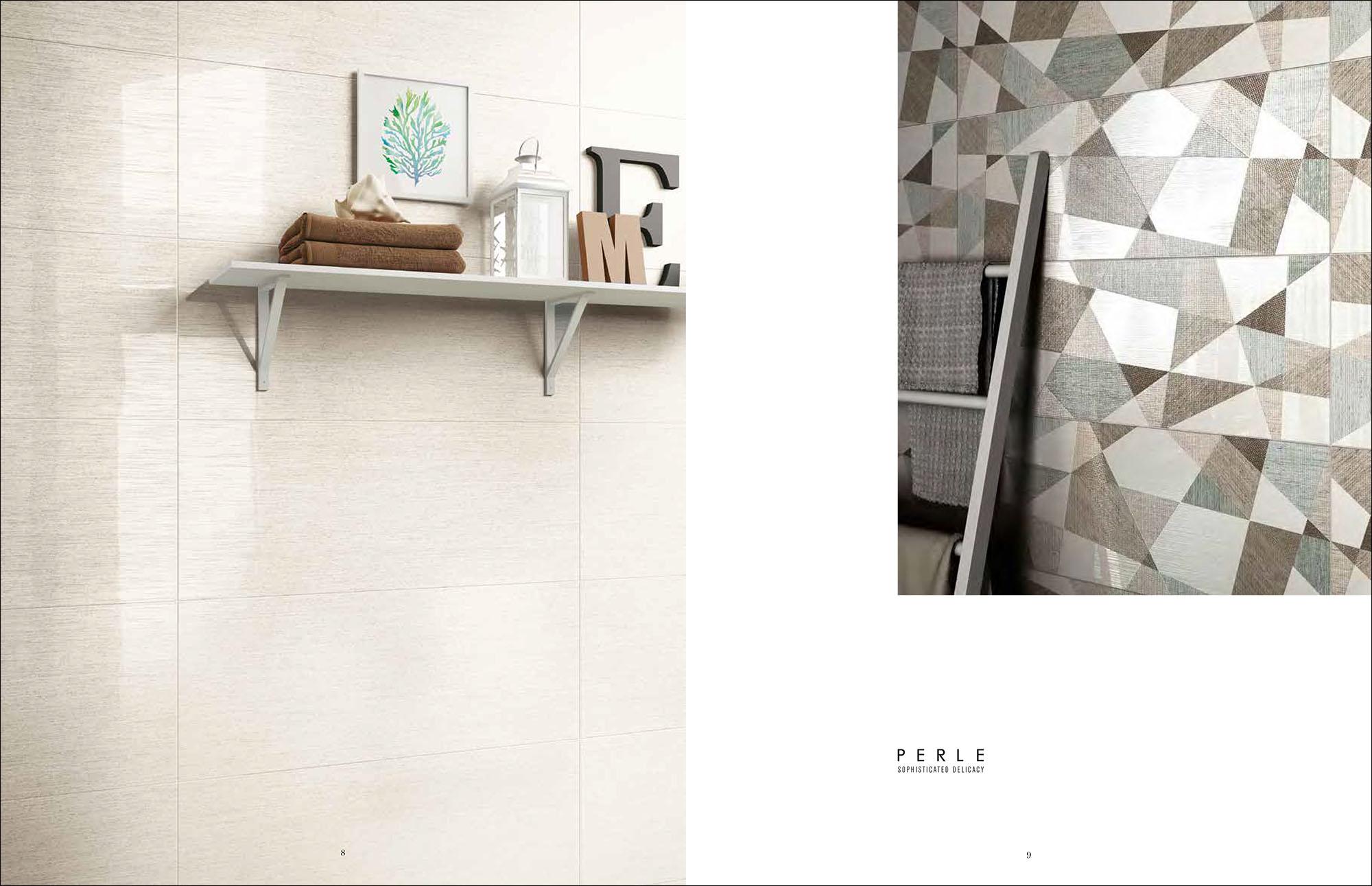 Hipix portfolio print adv Catalogo Perle Ceramica Naxos Fincibec Group immagine 5