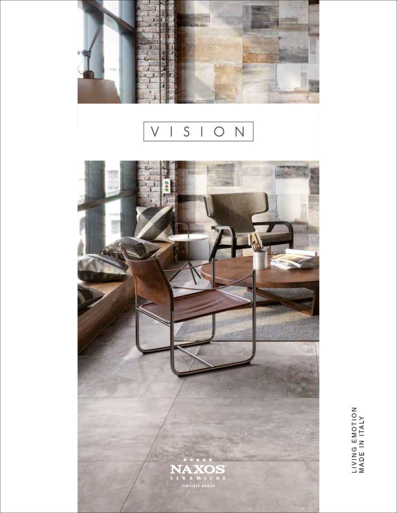 Hipix portfolio print adv Catalogo Vision Ceramica Naxos Fincibec Group immagine 1