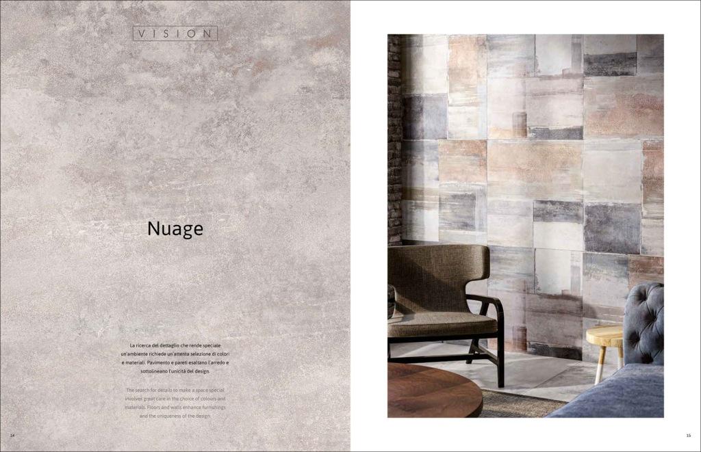 Hipix portfolio print adv Catalogo Vision Ceramica Naxos Fincibec Group immagine 3