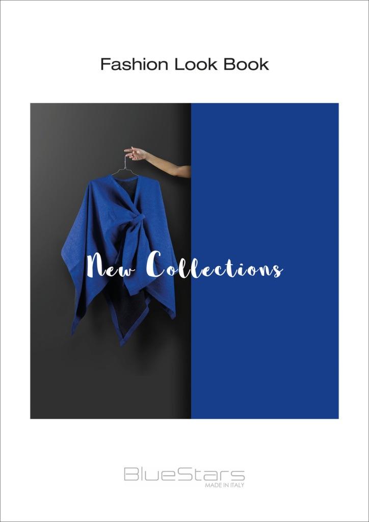 Hipix portfolio print adv Fashion Look Book Blue Stars immagine 1