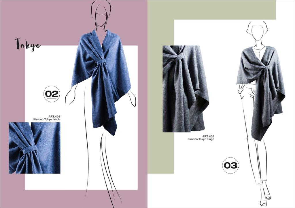 Hipix portfolio print adv Fashion Look Book Blue Stars immagine 3